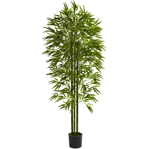 Nearly Natural 6' Bamboo Tree, UV Resistant, Indoor and Outdoor