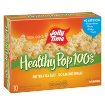 Microwave Popcorn: Jolly Time Healthy Pop 100's