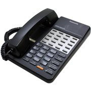 Refurbished Panasonic KX-T7020B Hybrid System Corded Telephone (Black)