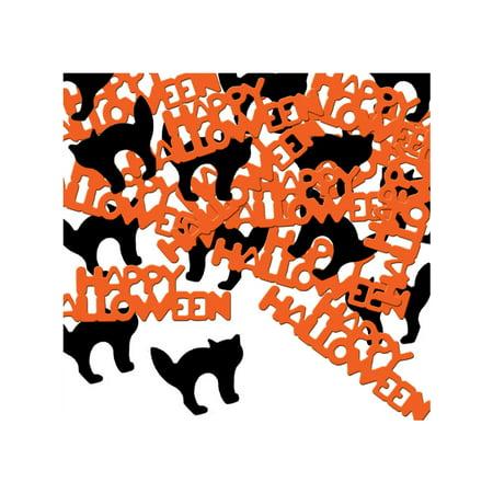 Fanci-Fetti Happy Halloween And Cat Confetti Celebration Party Decoration
