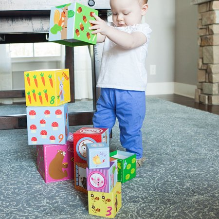 Woodland Friends Stacking Cubes