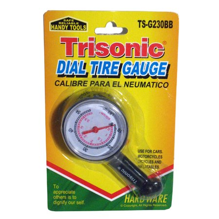 Truck Auto Vehicle Car Tyre Tire Air Pressure Gauge10-50 PSI Tester Dial Meter (Exhaust Back Pressure Tester)