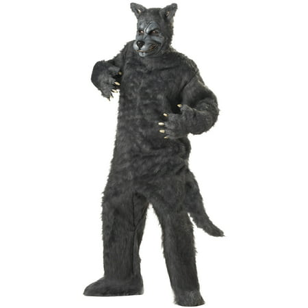 Big Bad Wolf Adult Costume - Wolf Hat Costume
