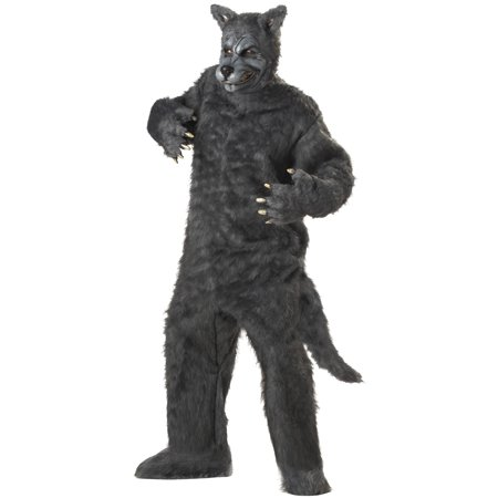 Big Bad Wolf Adult Costume - Big Bad Wolf Mask