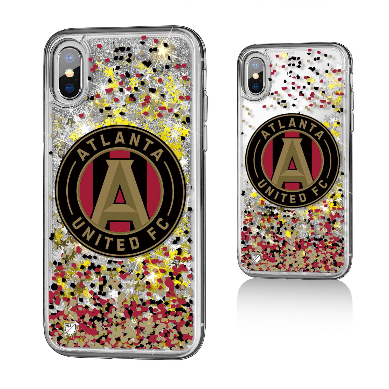 Atlanta United FC ATLUTD Confetti Glitter Case for iPhone X