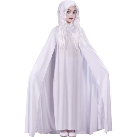 Morris Costumes Girls Gossamer Ghost Child Medium Halloween Costume, Style, FW5884MD - Gossamer Costume