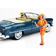 1950's Figure Patricia For 1:18 Diecast Model Cars by American Diorama