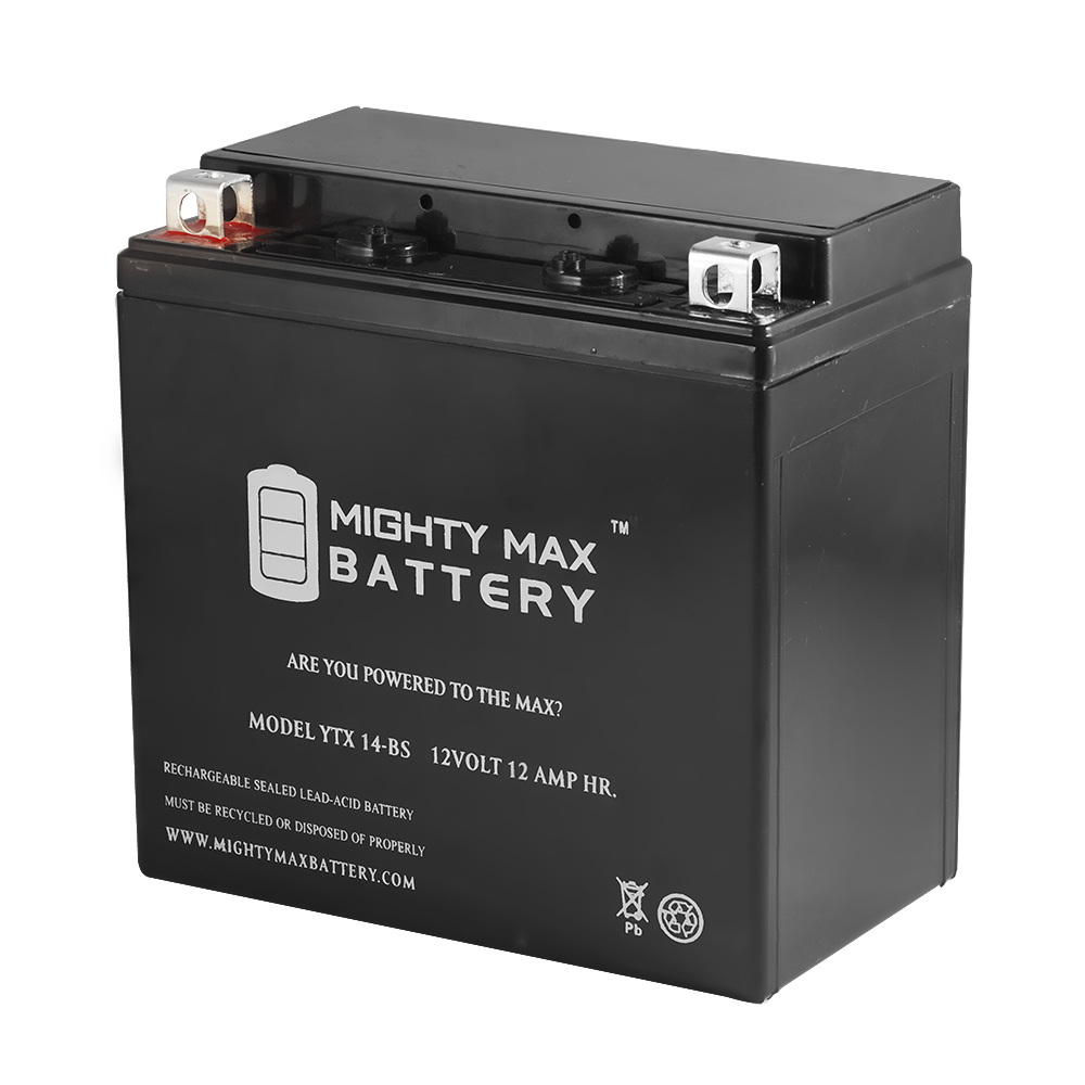 YTX14-BS Battery for Piaggio - Vespa 300 GTS300, GTV300 2014-2016