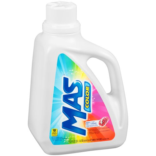 MAS Color Liquid Laundry Detergent, 100 fl oz