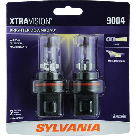 Sylvania 9004 Xtravision Headlight  Twin Pack