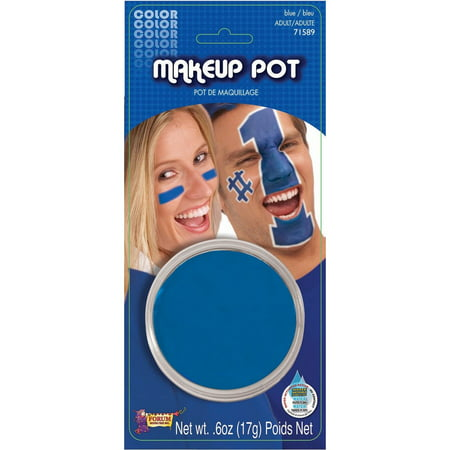 Simple Mens Halloween Face Paint (Blue Face Paint Stick Halloween Costume)