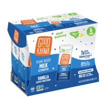 Shelf-Stable Milk: Good Karma Flaxmilk + Protein Boxes