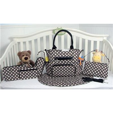 Grand Central Station 7 Pieces Diaper Bag Set  Limited Time Offer