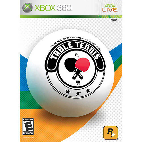 Table Tennis (Xbox 360) - Pre-Owned