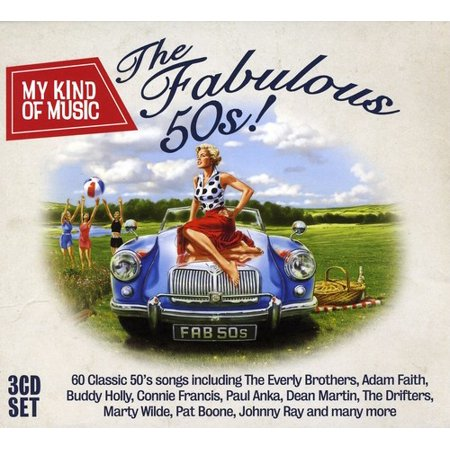 My Kind of Music: Fabulous 50's / Various (CD)