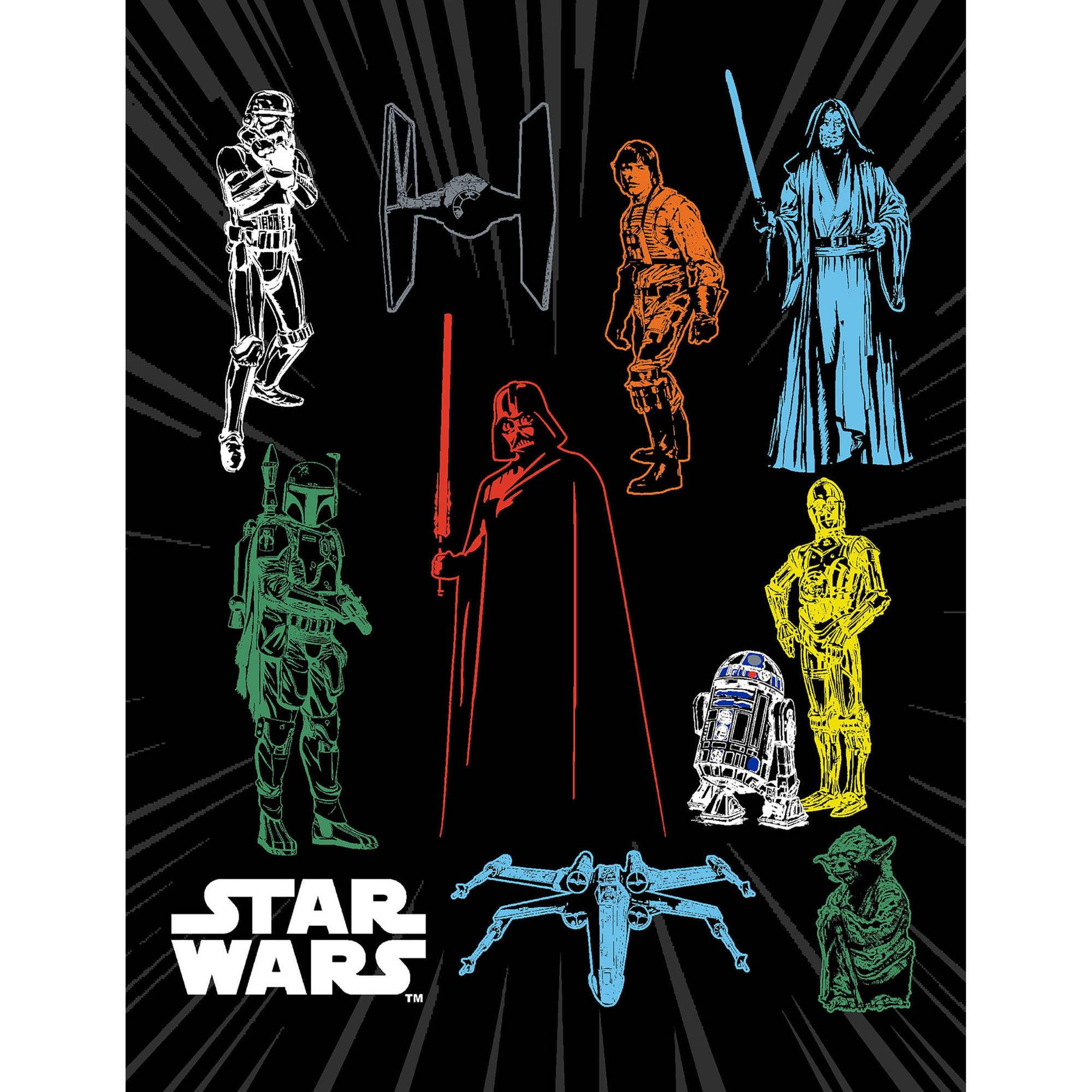 Star Wars Bedding Coordinates