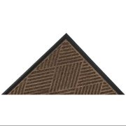 NOTRAX 168S0410BR Entry Mat, Diamond, Brown, 4 ft.x10 Ft