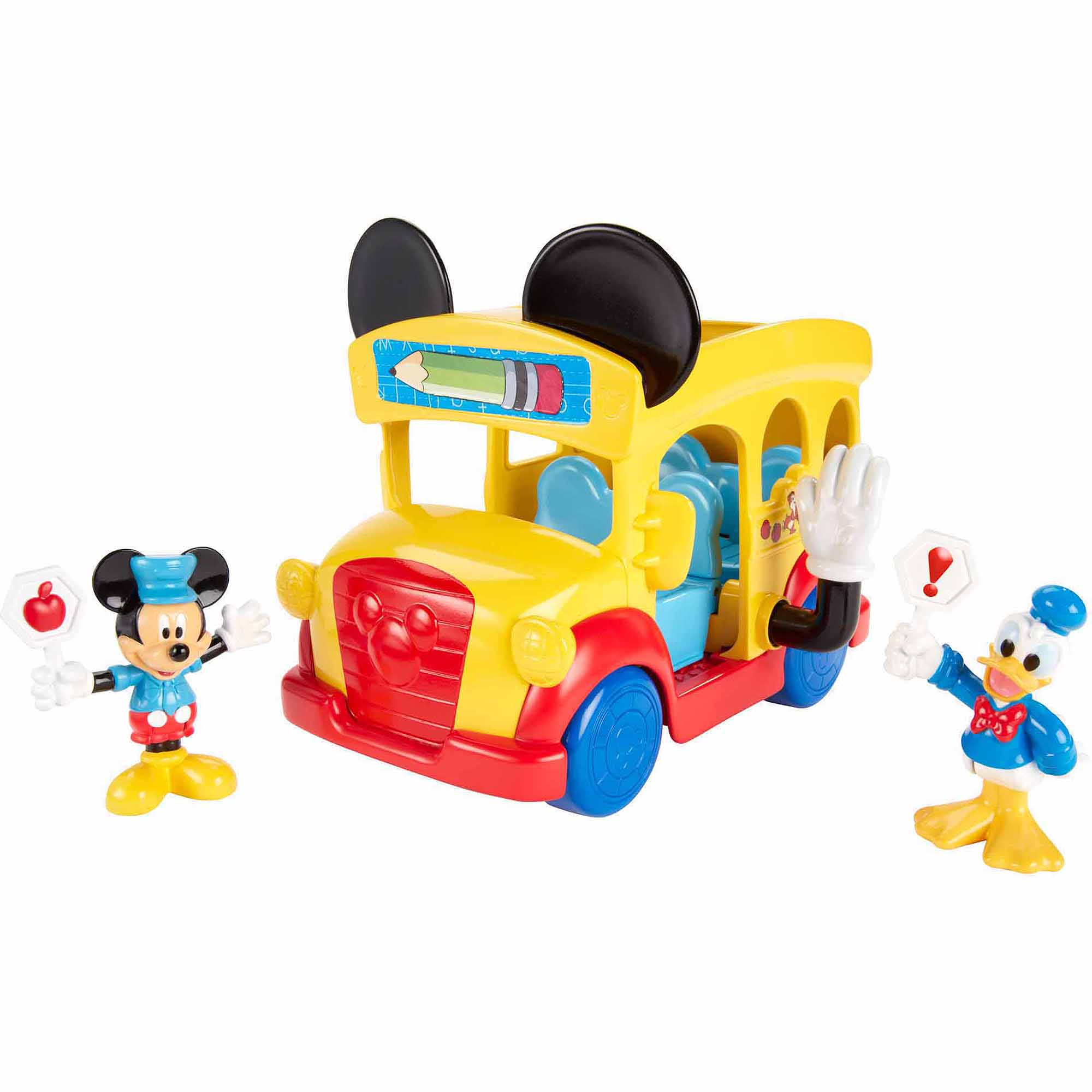 Fisher Price Mickey Mouse Slidin School Bus by Mickey Mouse