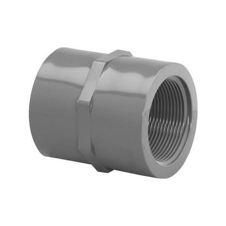 Products Inc 301258 Coupling Schedule 80, PVC 0.5 in. (0.5 Schedule 80 Coupling)