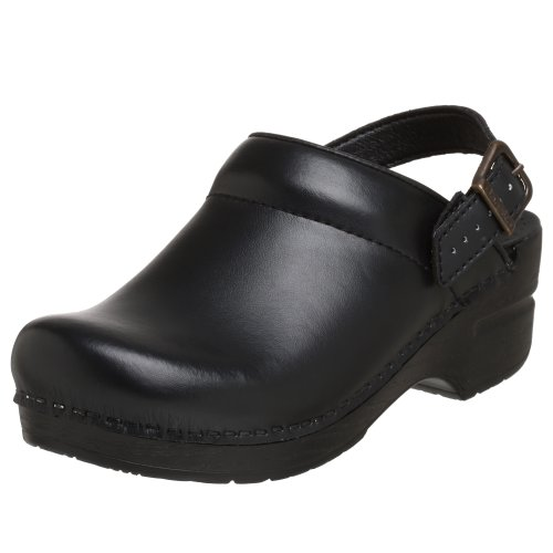 Dansko Women's Ingrid Box Leather Clog