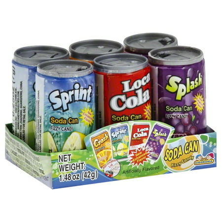 Toysmith Soda Can Fizz Playset, 1.48 oz (1-Pack of 6)