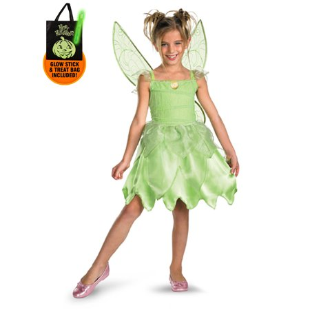 Tink and the Fairy Rescue - Tinker Bell Classic Toddler / Child Costume Treat Safety Kit](Trick R Treat Sam Costume For Sale)