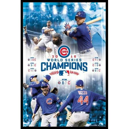 2016 World Series - Celebration Poster Poster Print