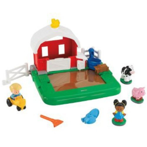 Fisher-Price Little People Apptivity Barnyard Play Set