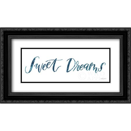 - Sweet Baby Boy II 2x Matted 24x14 Black Ornate Framed Art Print by Jackson, Jenaya