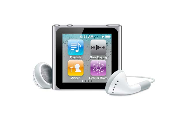 apple ipod nano 6th generation 8gb silver in plain white box rh walmart com ipod nano 6th generation manual download manual for apple ipod nano 6th generation