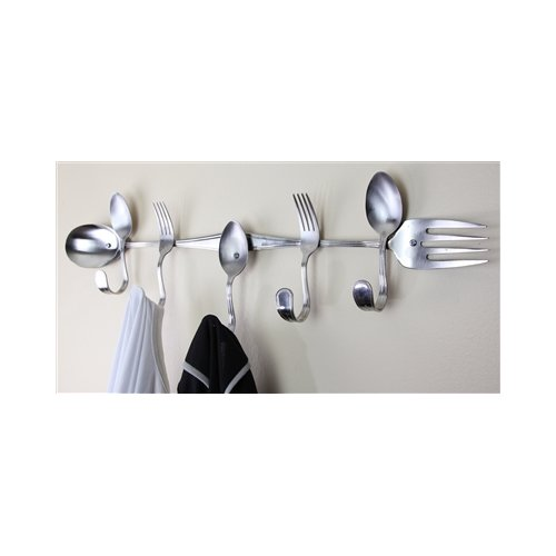 Forked Up Art Mix Coat Rack