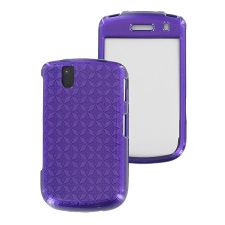 OEM Verizon Snap-On Case for BlackBerry Bold 9650, Tour 9630 (Pattern Purple) (Bulk Packaging) ()