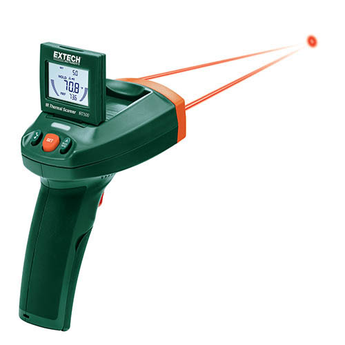 Extech IRT500 Dual Laser IR Thermal Scanner