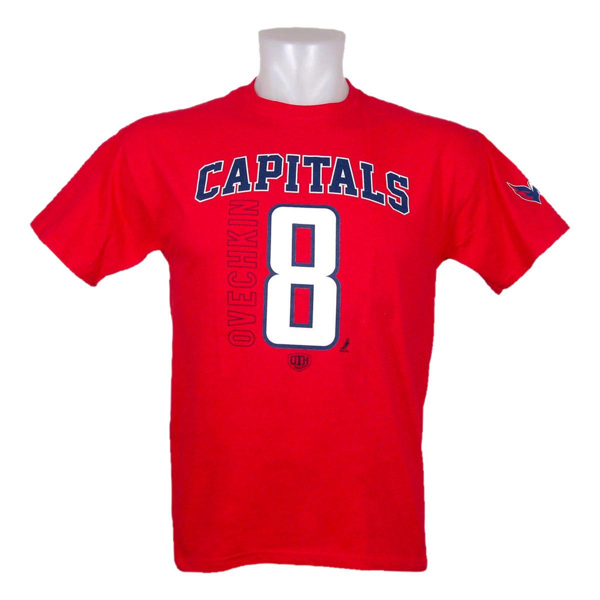 498aeef0028 Washington Capitals Alexander Ovechkin Hawkins T-Shirt - Old Time Hockey