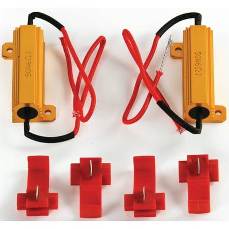 Led Bulb Free Resistors (Camco 54644 50 Watt Load Resistor Kit for LED)