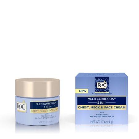 Roc Multi Correxion 5 In 1 Anti Aging Moisturizing Cream Spf 30  1 7 Oz