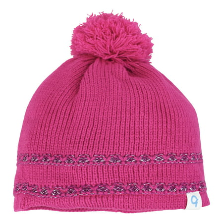 Cold Front - Girl s Lurex Beanie With Pom 9236b9a7c55f