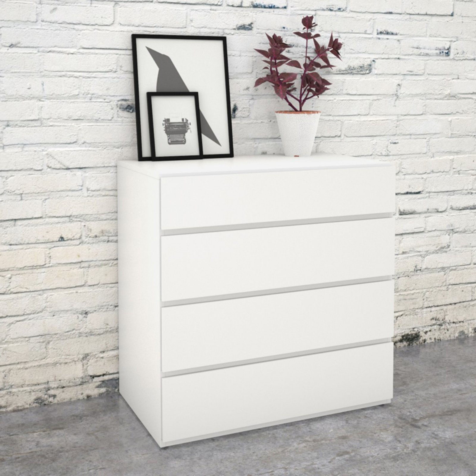 Nexera Tribeca 4 Drawer Chest