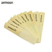 OWSOO ammoon 10pcs 2.5 2-1/2 Bamboo Reeds Set for Eb Alto Saxophone Sax Accessory Part