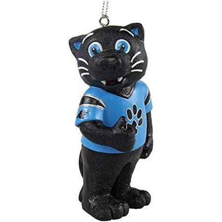 CAROLINA PANTHERS SIR PURR MASCOT ORNAMENT (Panther Mascot)
