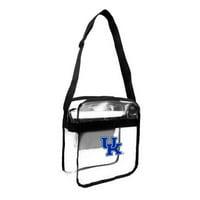 Little Earth - NCAA Clear Carryall Cross Body Bag, University of Kentucky Wildcats