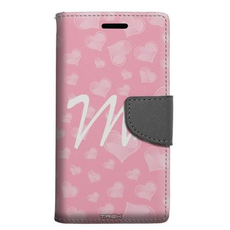 Alcatel Pop 4 Wallet Case - Mrs Heart Case