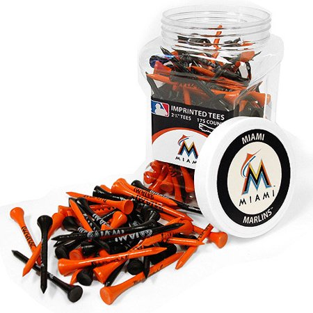 Team Golf MLB Miami Marlins Jar Of 175 Golf Tees by