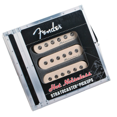 Fender Hot Noiseless Pickups, Aged White, Set Of 3