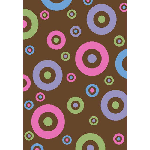 Concord Global Imports Alisa Dots in Dots Kids Rug
