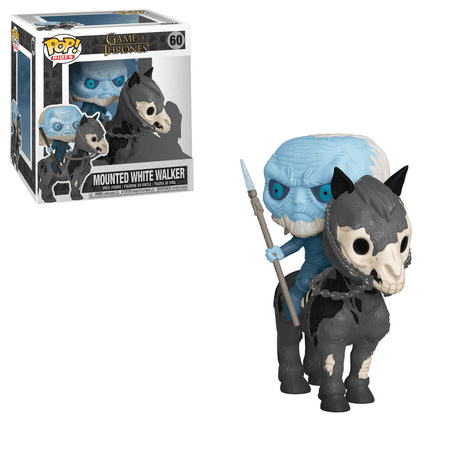 Funko POP! Rides: GOT S10 - White Walker on Horse
