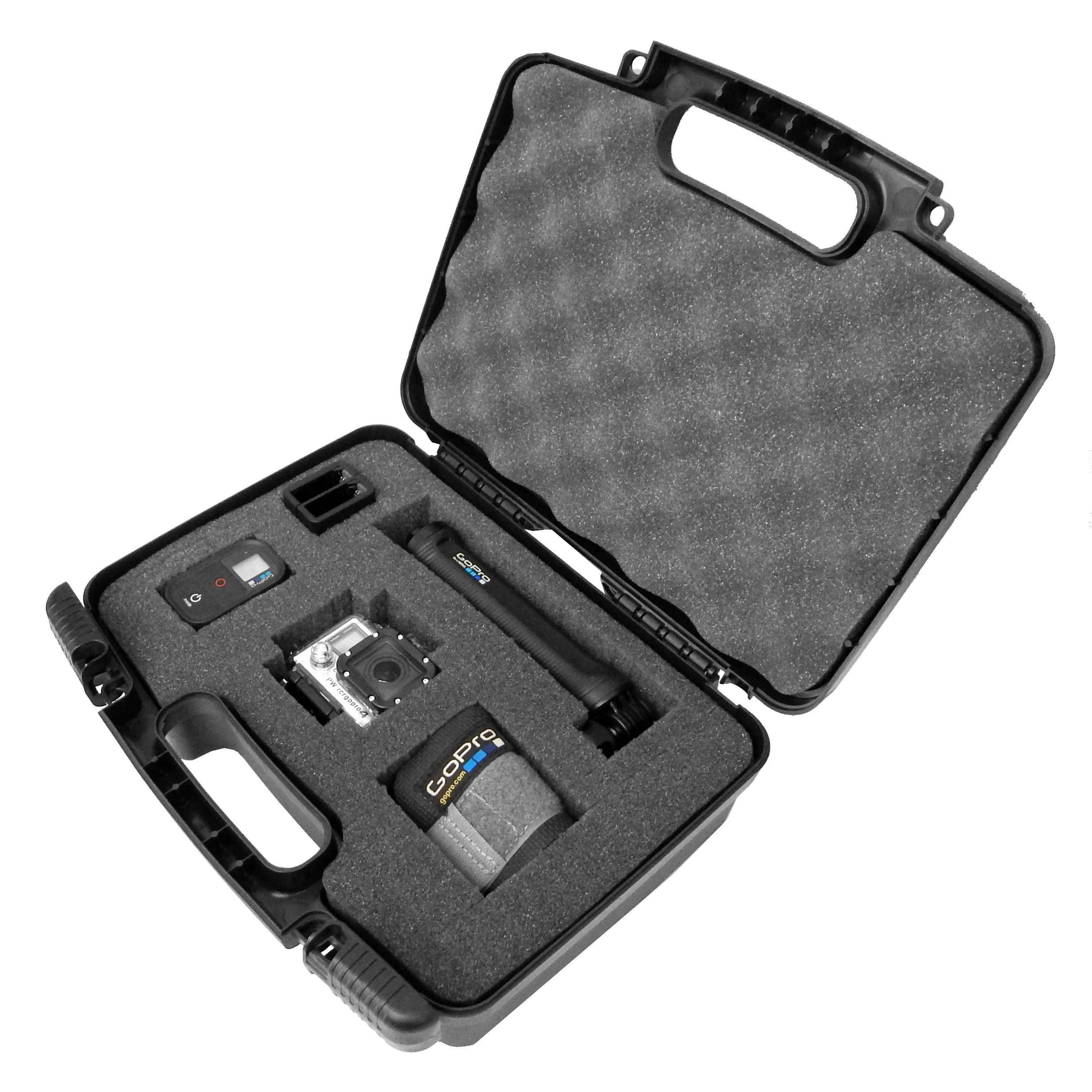 GoXTREME Hard Shell Travel and Storage Case for Sports Action Cameras and Accessories - Fits DBPOWER SJ4000 / ABLEGRID SJ5000/ Spy Tec GIT2 / ASX ActionPro-X / Xiaomi Yi / Stealth 2 / SJCAM SJ4000