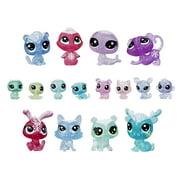 Littlest Pet Shop Frosted Wonderland Pet Pack Toy, Includes 16 Pets