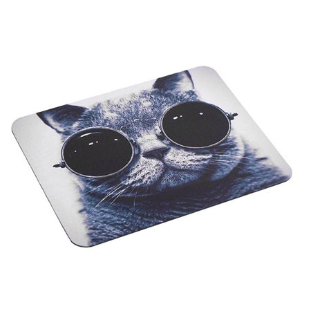 Cat Pattern Anti-Slip Laptop PC Mice Pad Mat Mousepad For Optical Laser Mouse - image 6 of 8