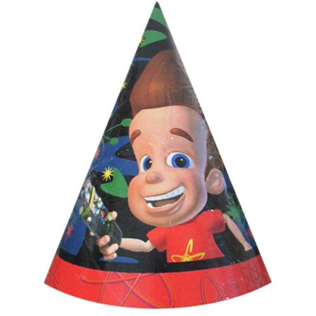 Jimmy Neutron Cone Hats (8ct) - Jimmy Neutron Party